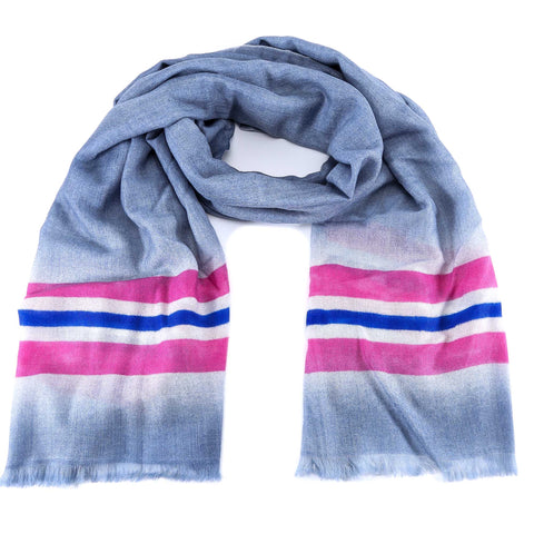 Valentino VLTN Striped Scarf