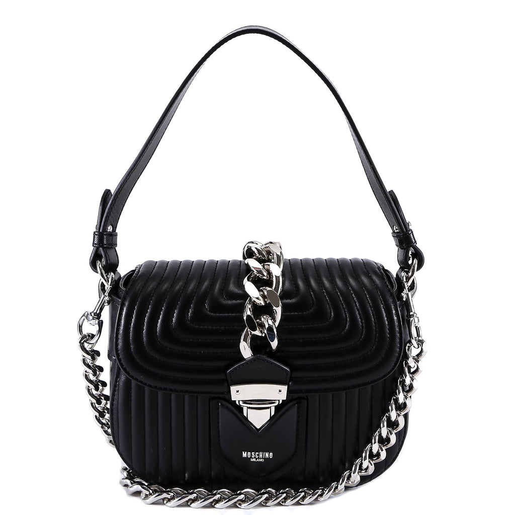 Moschino Quilted Chain Bag Cettire