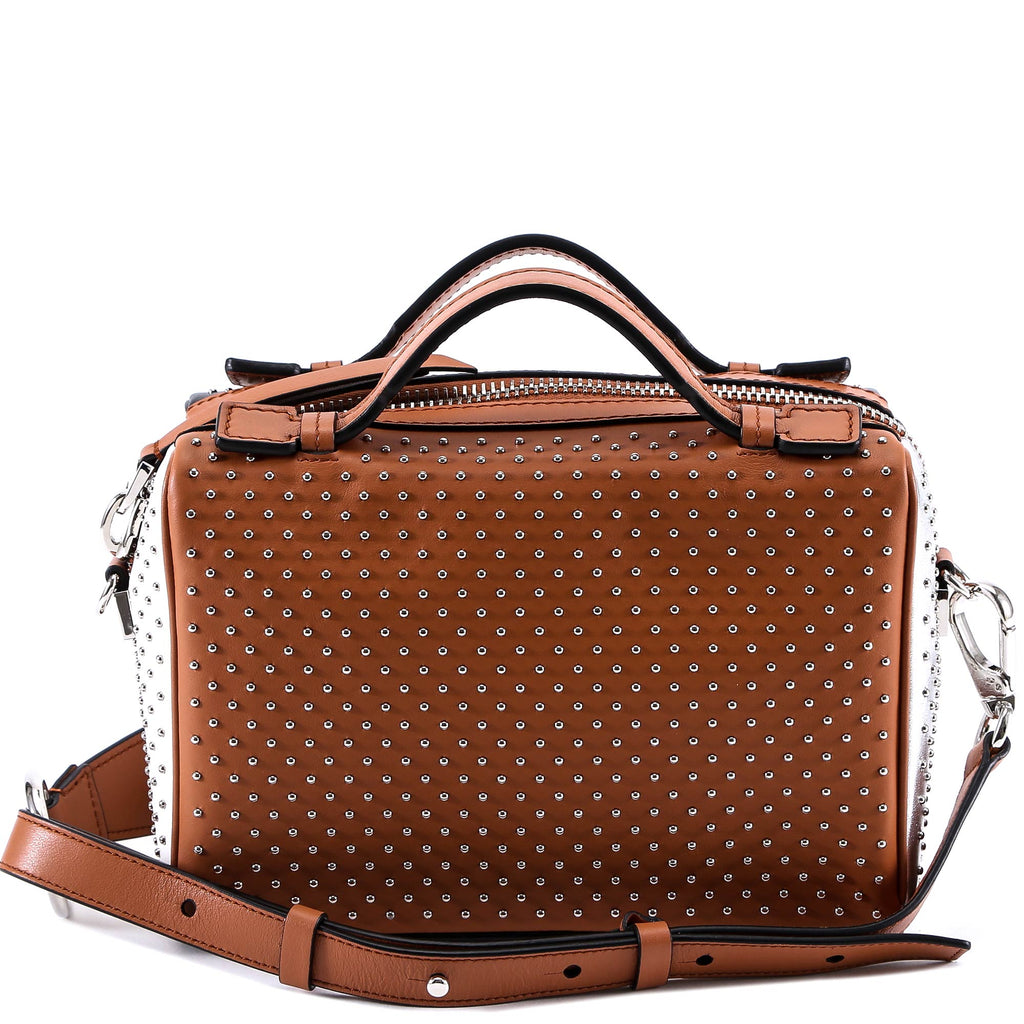 Studded Colour Block Tote - Only One Size / Brown Tod's Discount Countdown Package Cheap For Sale Cheap Popular YAubp