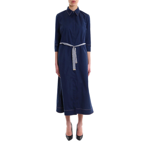 Fay Belted Shirt Dress