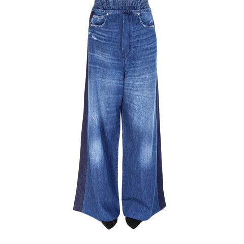 Golden Goose Deluxe Brand Wide-Leg Denim Jeans