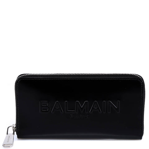Balmain Zip Around Wallet