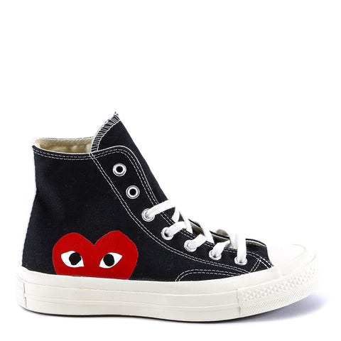 Comme Des Garçons Play x Converse All Star Hi-Top Sneakers