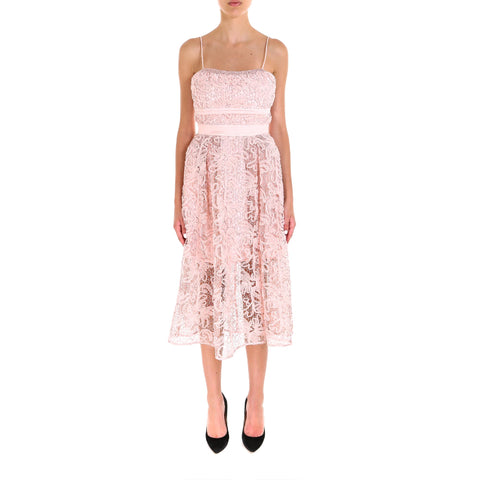 Self Portrait Lace Midi Dress