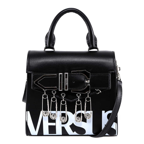 Versus Safety Pin Logo Tote Bag