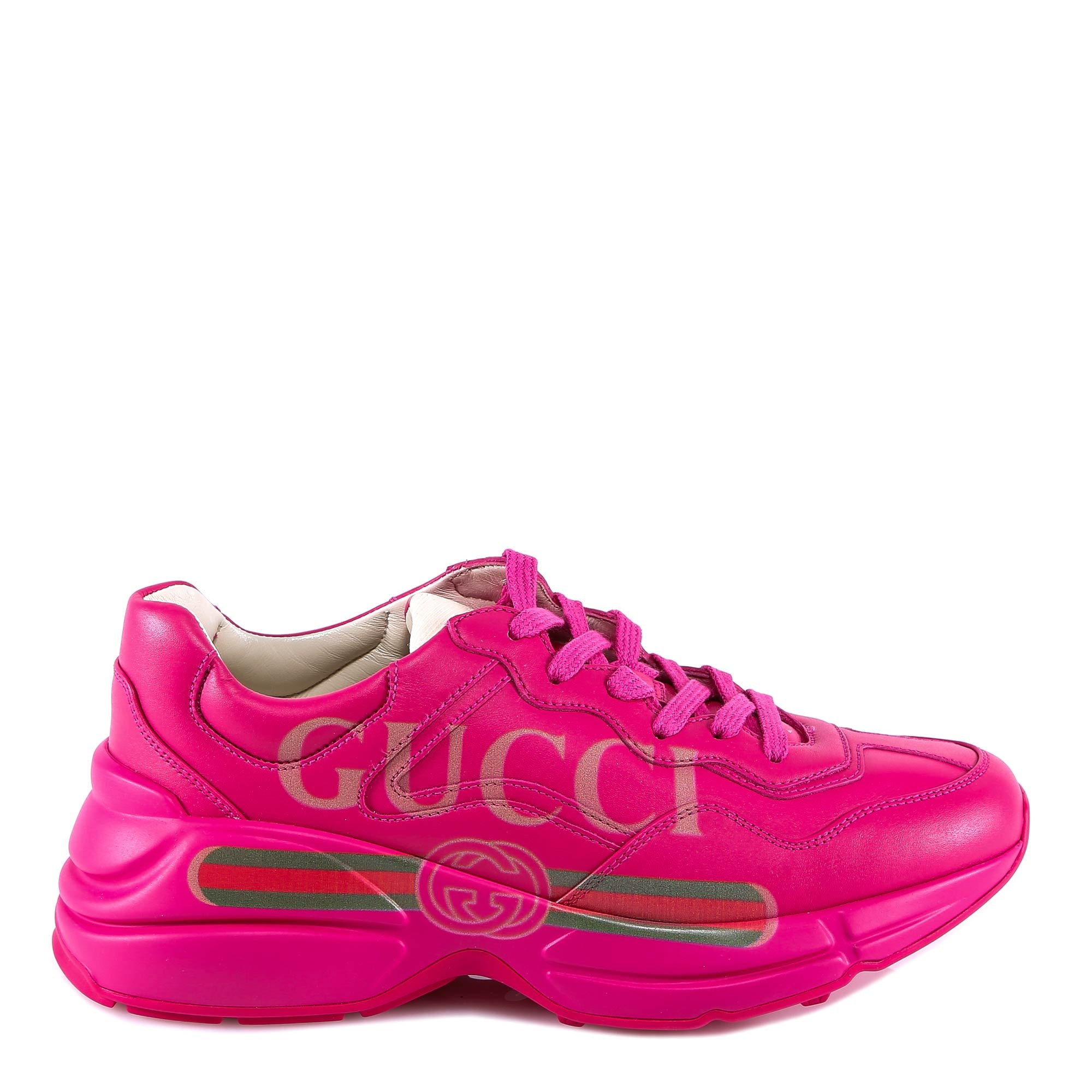 Gucci Rhyton Sneakers, Pink