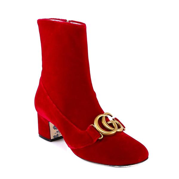 24c2b4cf9 Gucci GG Buckle Ankle Boots – Cettire