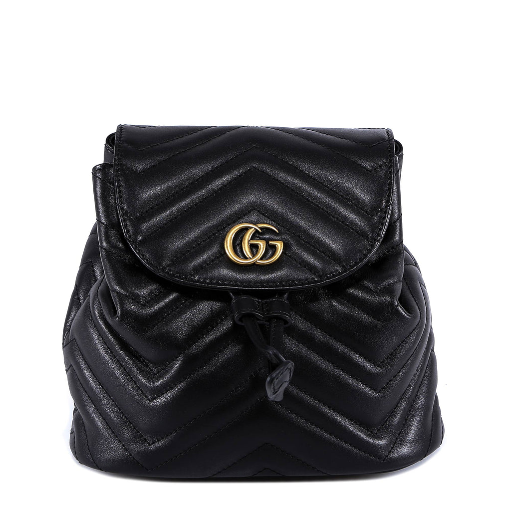 b4aacd4cbaba43 Gucci Marmont Matelassé Backpack – Cettire