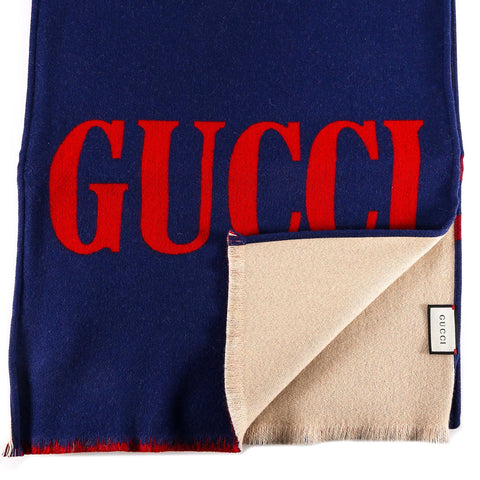 Gucci Contrasted Scarf