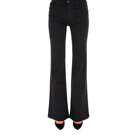 J Brand Buttoned Flared Jeans