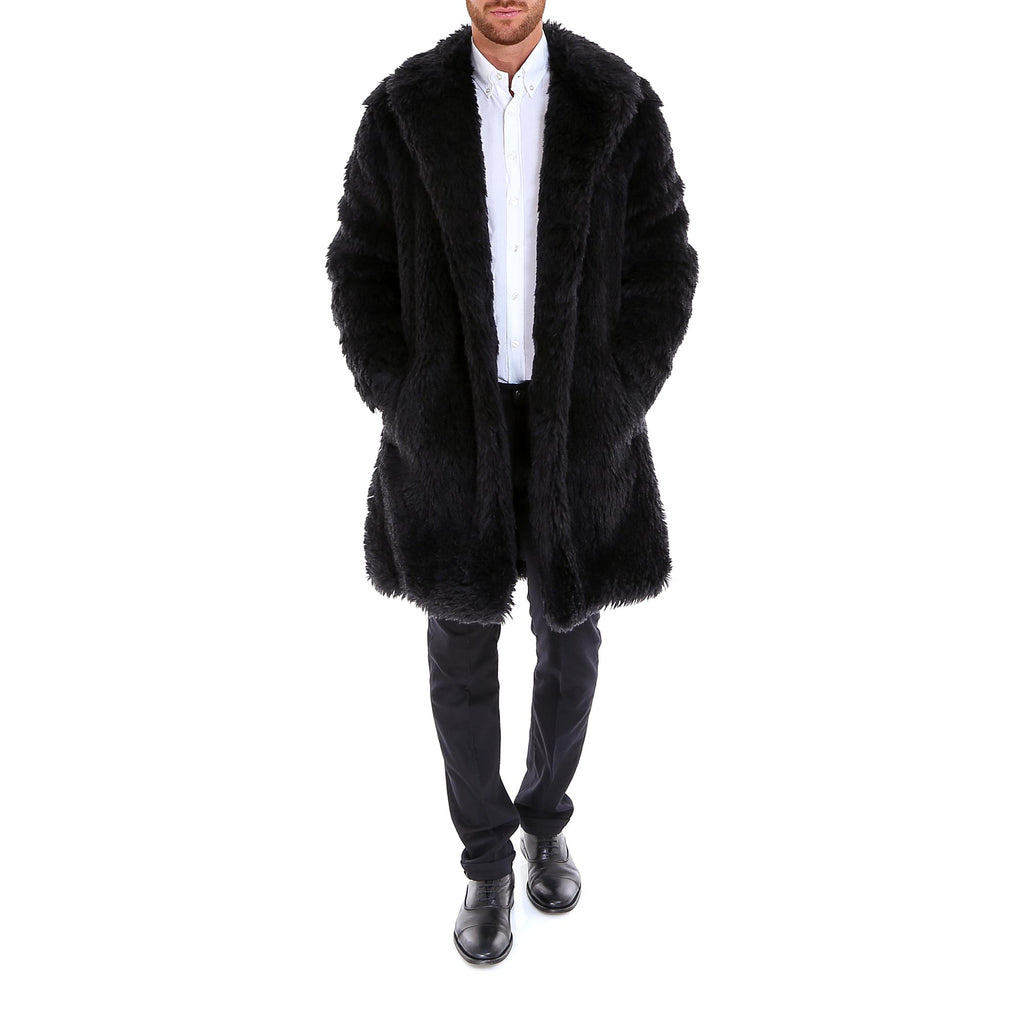 45de89bac66 Saint Laurent Faux Fur Coat – Cettire