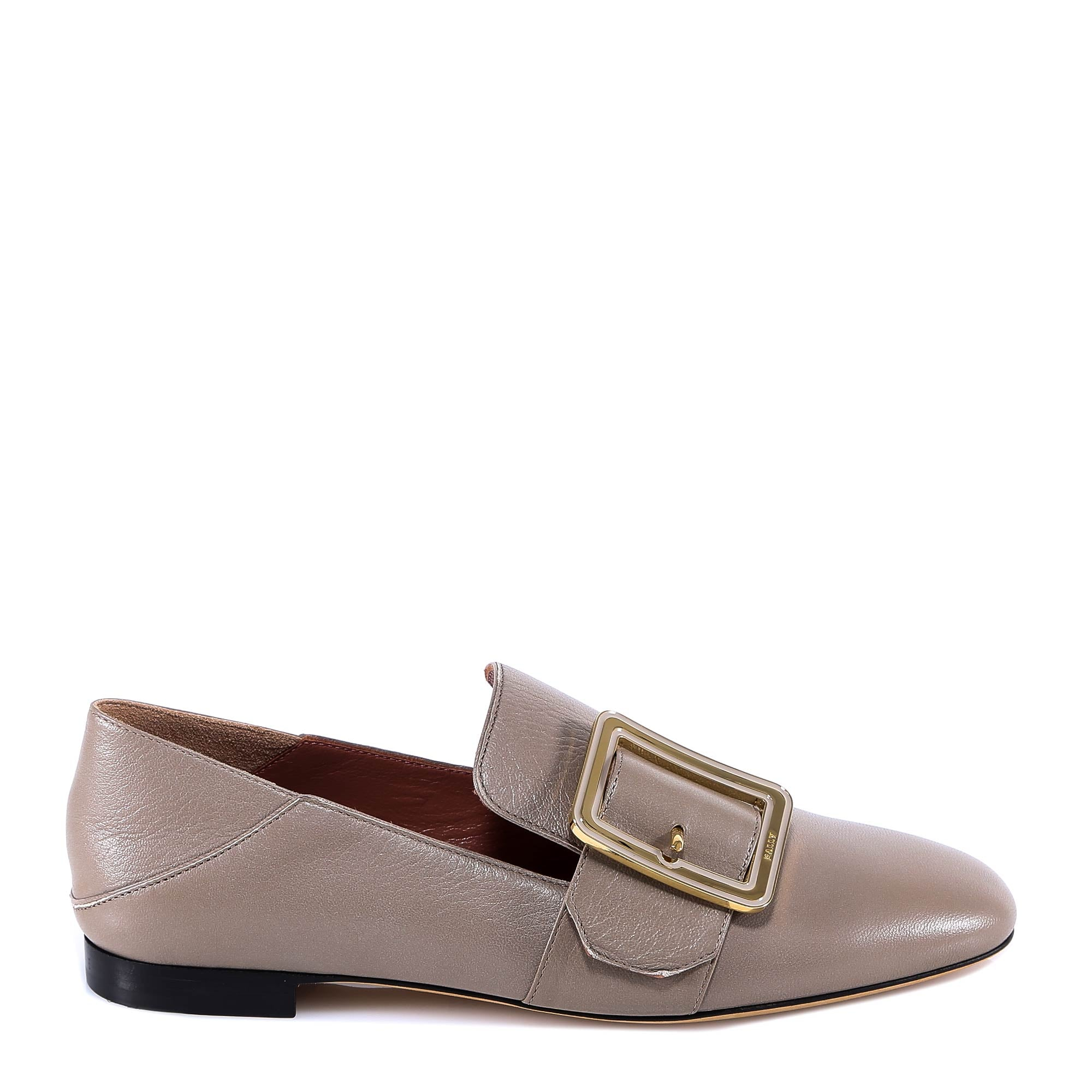Bally Janelle Loafers, Grey