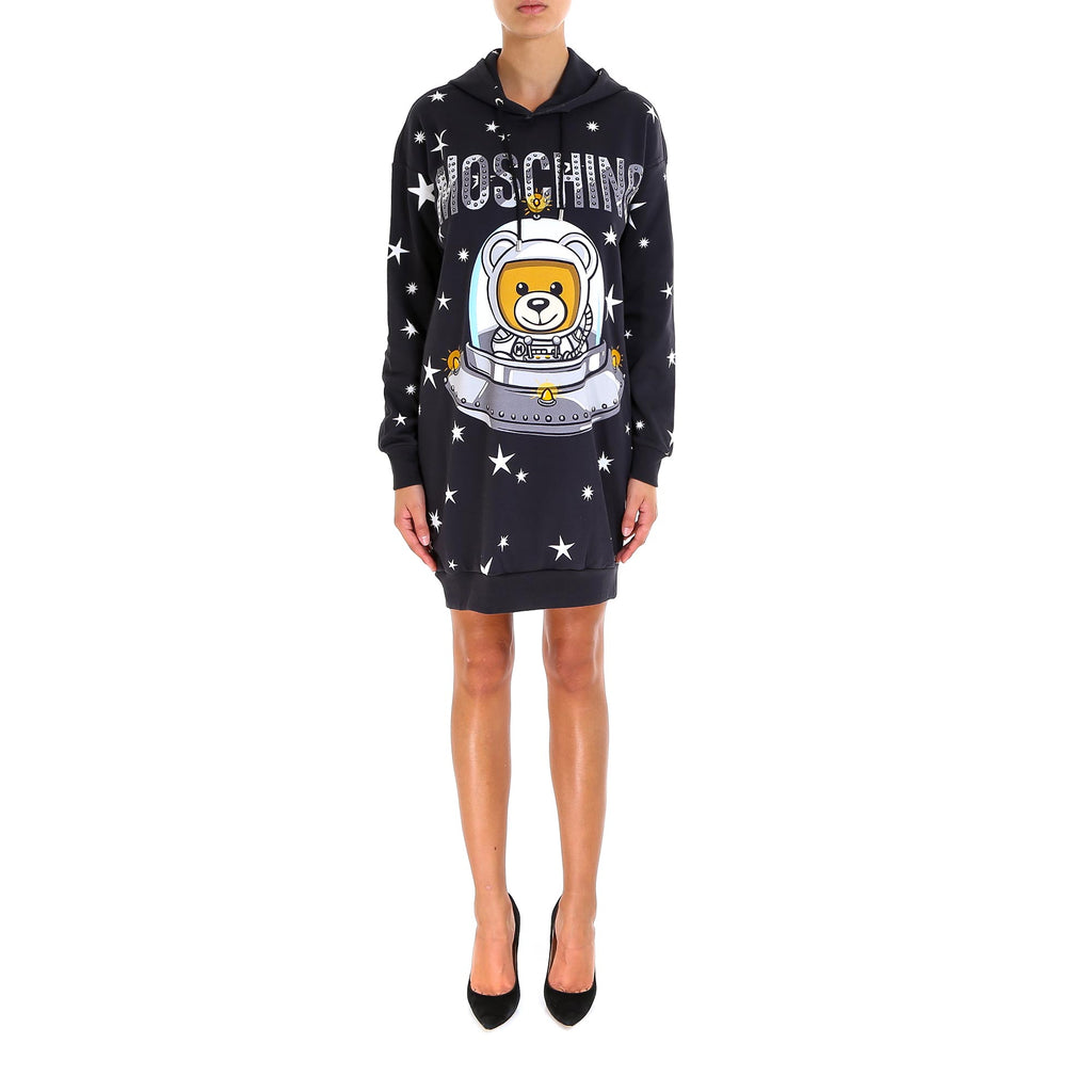 e9cccb2b3a5b Moschino Space Teddy Hoodie Dress – Cettire