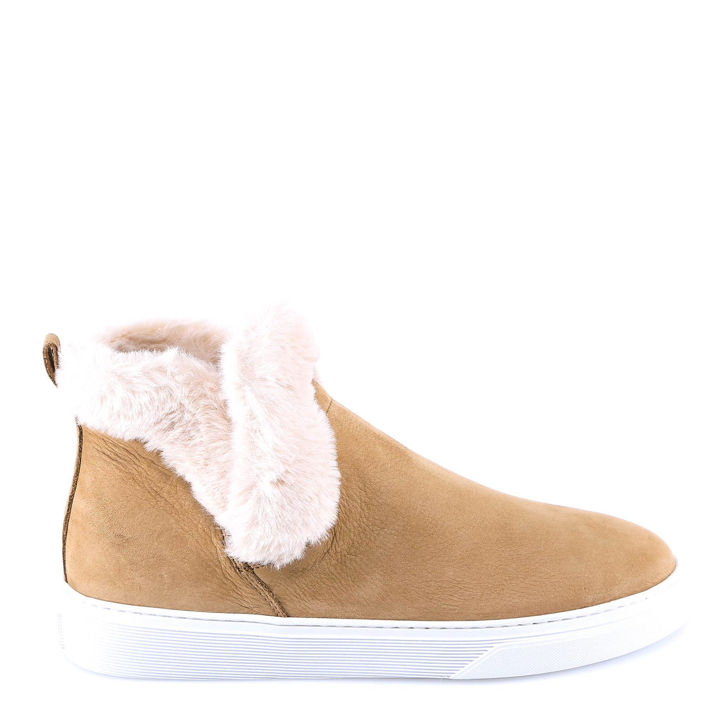 ae9230c3b15883 Hogan Furry Suede Ankle Boots – Cettire