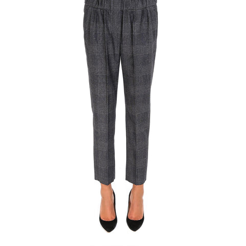 Brunello Cucinelli Checked Trousers
