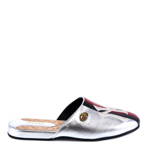 Gucci NY Web Stripe Loafers