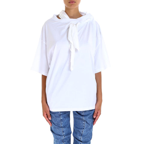 Y / Project Tie-Neck T-Shirt