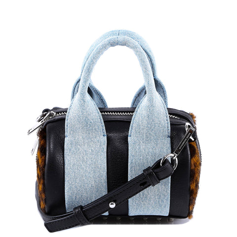 Alexander Wang Denim Detailed Rockie Tote