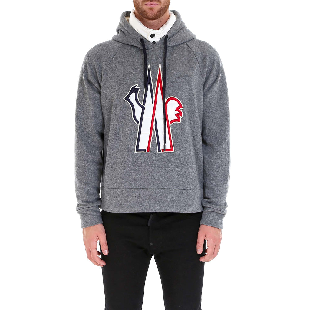 797a45f06d2f Moncler Grenoble Embroidered Logo Hoodie – Cettire
