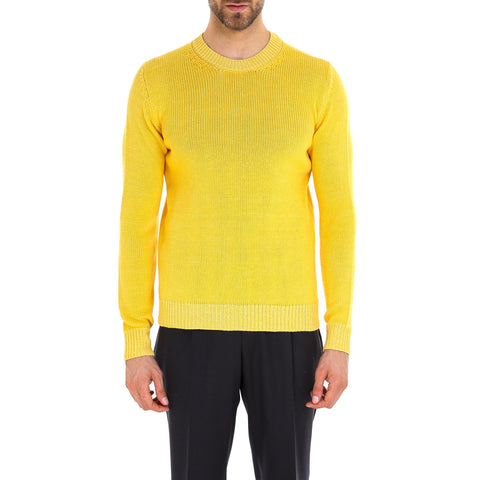 Nuur Ribbed Crewneck Sweater