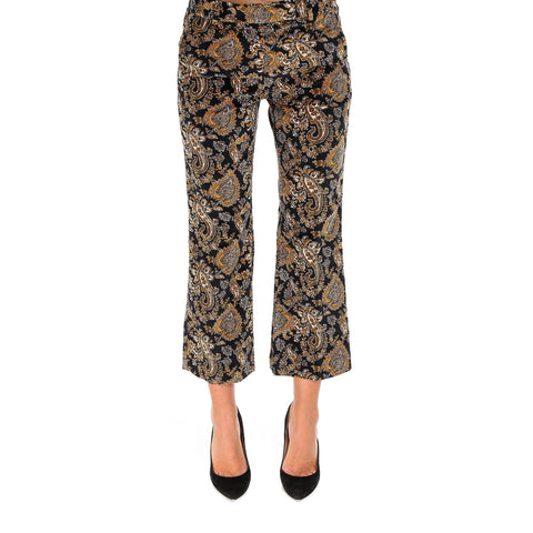 Michael Michael Kors Velvet Patterned Trousers