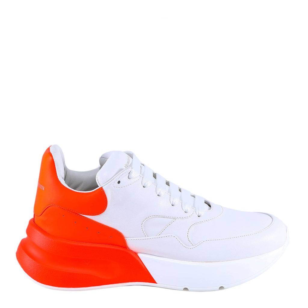 Alexander McQueen Contrast Lace-Up Sneakers