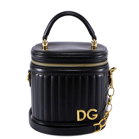 Dolce & Gabbana Quilted Bucket Bag
