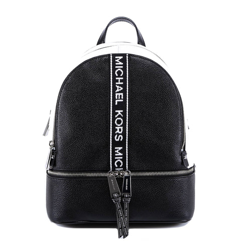 Michael Kors Rhea Medium Logo Band Backpack