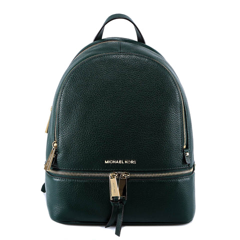 Michael Kors Logo Zipped Backpack