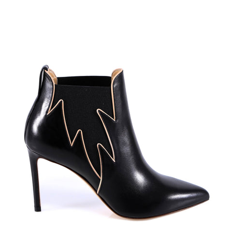 Francesco Russo Elastic Side Panel Ankle Boots