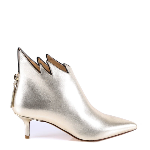 Francesco Russo Pointed Ankle Boots