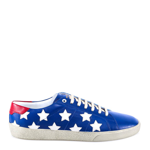 Saint Laurent Stars Print Sneakers
