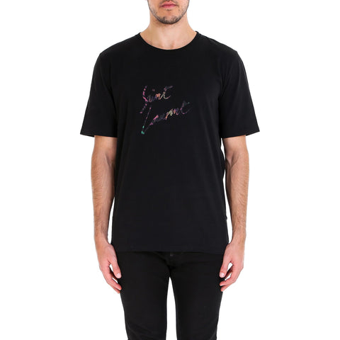 Saint Laurent Crewneck T-Shirt