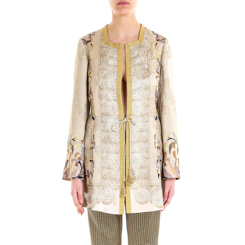 Etro Giacca Floral Print Jacket