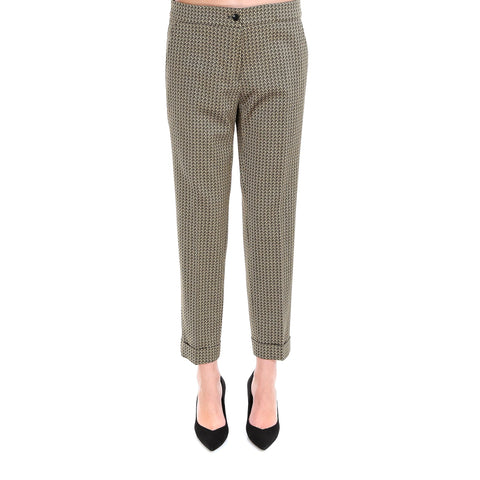 Etro Pattern Printed Tapered Trousers
