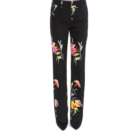 Etro High-Waisted Flared Trousers