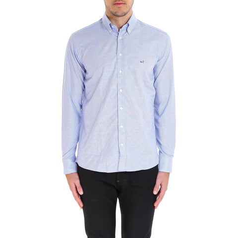 Etro Patterned Logo Embroidered Shirt