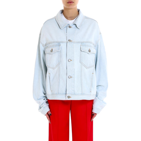 Golden Goose Deluxe Brand Snow White Denim Jacket