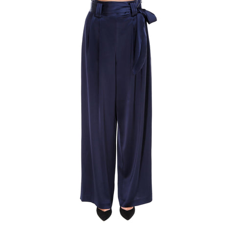 Tory Burch High Waisted Satin Pants
