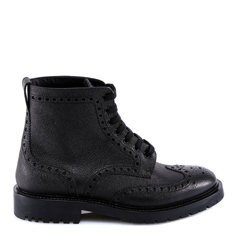 Burberry Military Ankle Lace-Up Boots