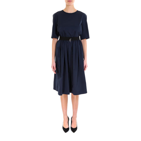 'S Max Mara Short Sleeve Midi Dress