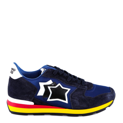 Atlantic Stars Logo Lace-Up Sneakers