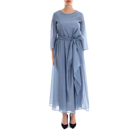 'S Max Mara Waist Tie Midi Dress