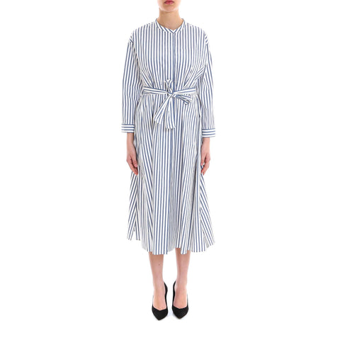 'S Max Mara Bebbio Striped Midi Dress