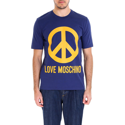Love Moschino Peace Sign T-Shirt