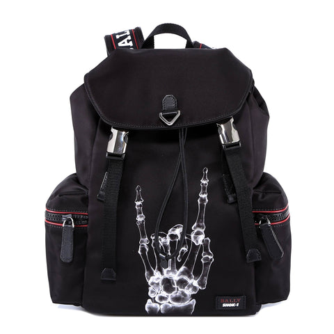 Bally X-Ray Hand Print Shok-1 Backpack