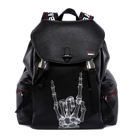 Bally Shok-1 X-Ray Hand Print Backpack