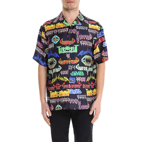Gucci Printed Short Sleeve Shirt