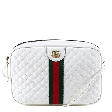 Gucci Small Quilted Stripe Shoulder Bag