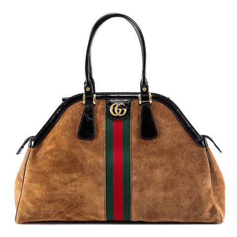 Gucci RE(BELLE) Large Top Handle Bag